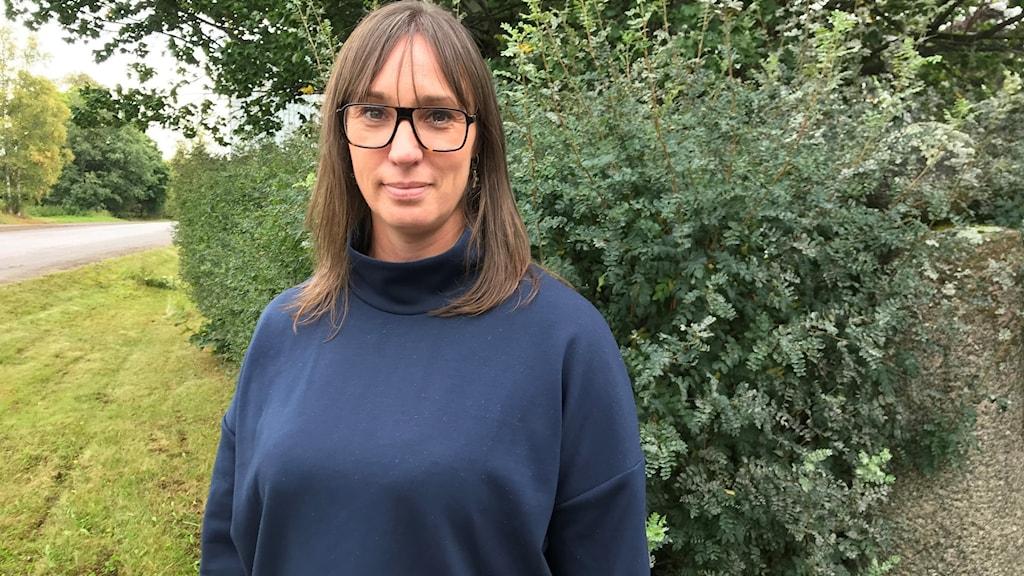 Porträtt på Mia Fristaden, verksamhetsutvecklare barn- och ungdomspsykiatrin, Region Västernorrland