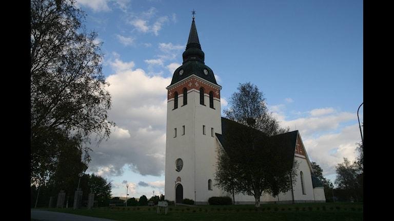 Ullångers kyrka i Ångermanland. Foto: Ingrid Engstedt Edfast