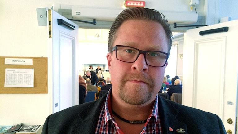 Landstingspolitiker Jonne Norlin (S) från Kramfors. Foto: Ulla Öhman/Sveriges Radio