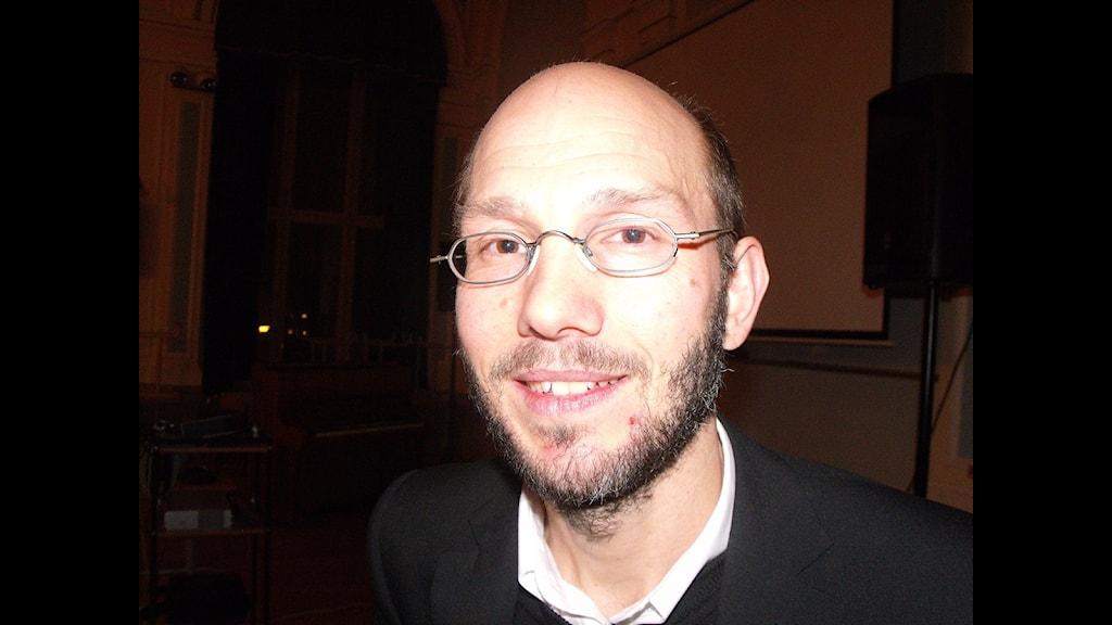 """Hans Wiklund är ordförande i """"nya"""" Brännans skolråd. Foto Ulla Öhman"""