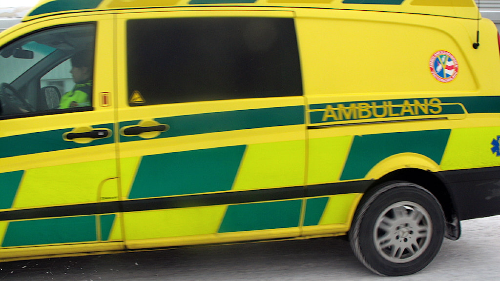 Ambulans. Foto Ulla Öhman
