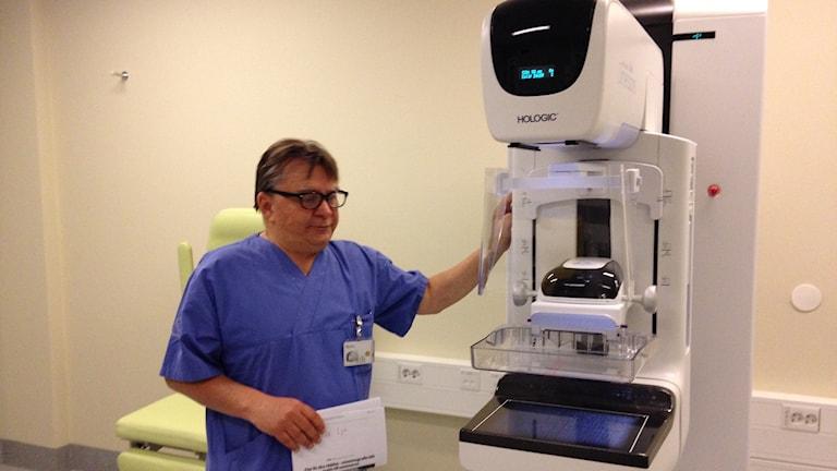 Tommy Berglund enhetschef på mammograficentrum i Sundsvall