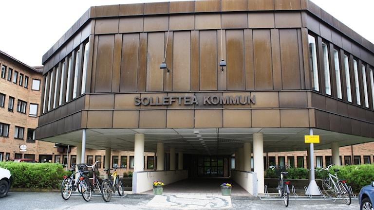 Kommunhuset i Sollefteå. Foto: Anna Ahlström