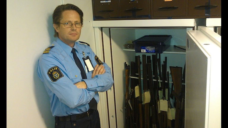 Fler vapen beslagtas i Västernorrland. Foto.Christer Suneson