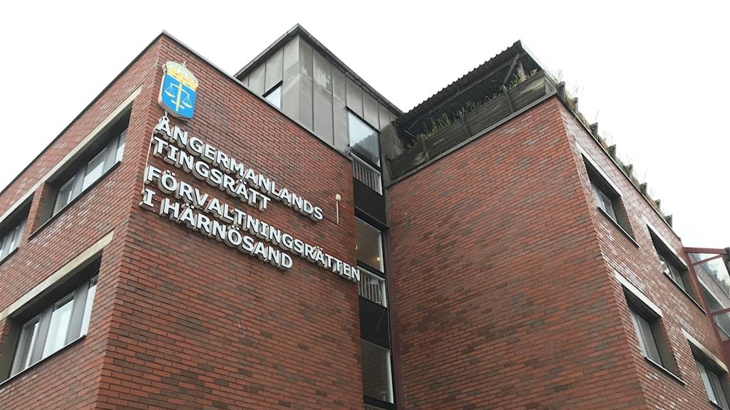 Ångermanlands tingsrätt i Härnösand.
