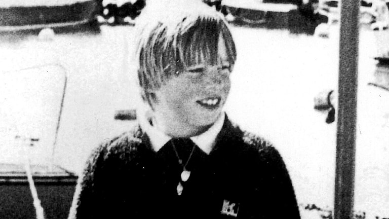 Johan Asplund som försvann i Sundsvall 1980. Foto: Scanpix
