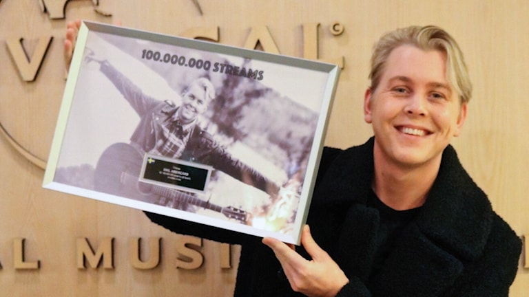 Emil Assergård 100 miljoner spelningar