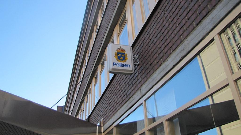 Polishuset i Sundsvall. Foto:Matilda Jansson