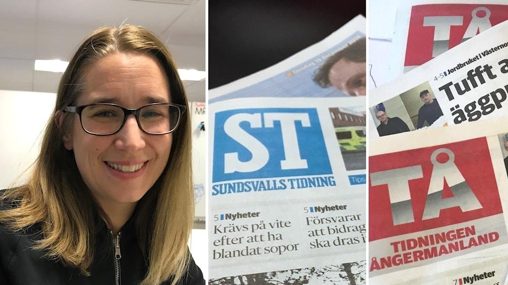 Karin Näslund, chefsredaktör Sundsvalls tidning.
