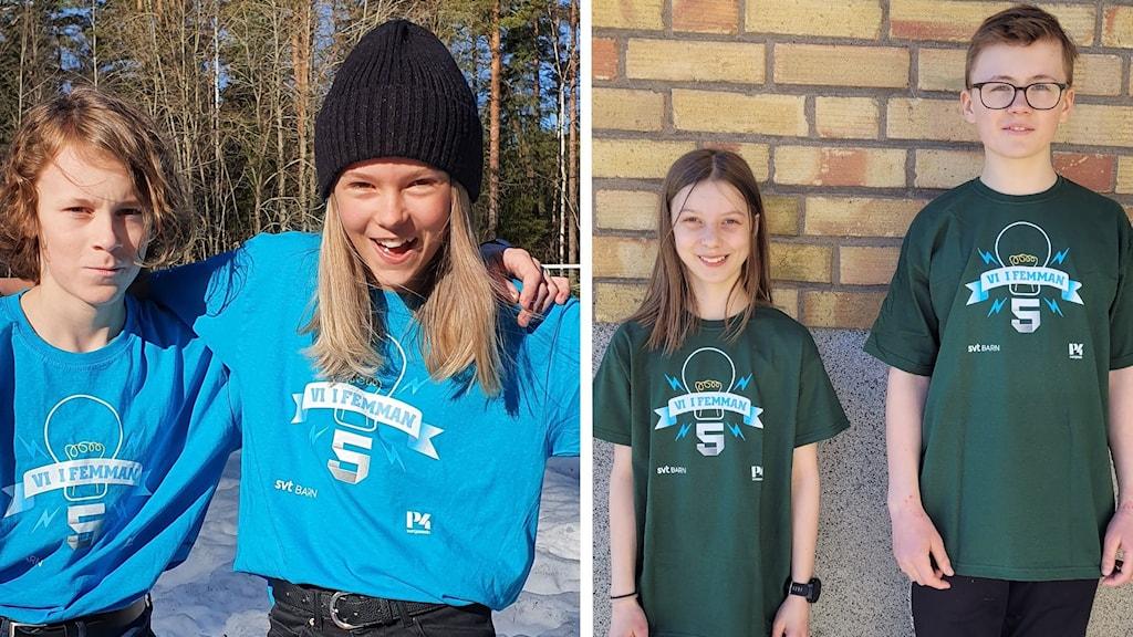 Vi i femman final Mimerskolan och Sidensjöskolan
