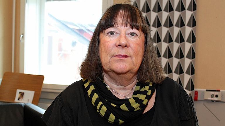 Anna-Klara Asplund, mamma till Johan Asplund som försvann i Sundsvall 1980. Foto: Karin Lycke