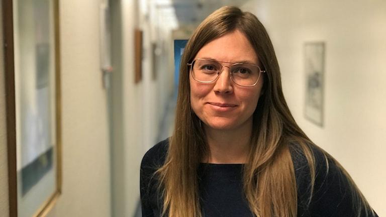 Maria Tempé, biträdande smittskyddsläkare i Västernorrland. Foto: Fredrik Birging/Sveriges Radio