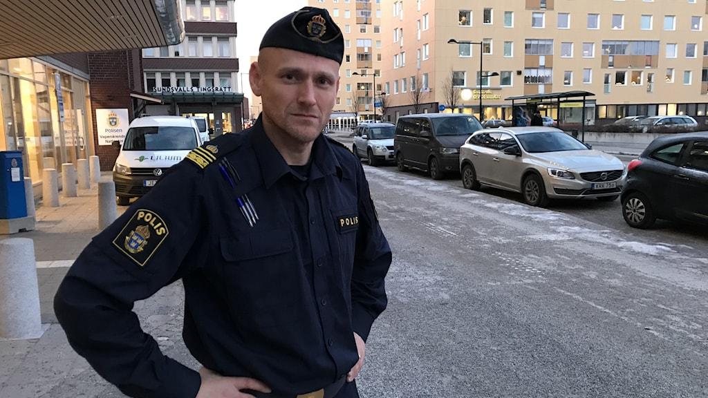 Trafikpolisen Johan Dyrander