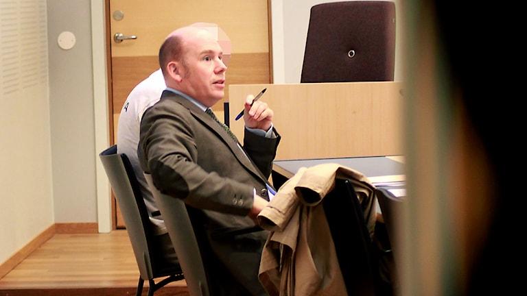 Advokat Fredrik Burvall. Foto: Sofia Forell/Arkiv