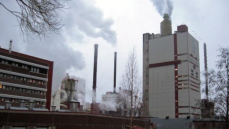 Östrandsfabriken i Timrå. Foto: Stig Edfast