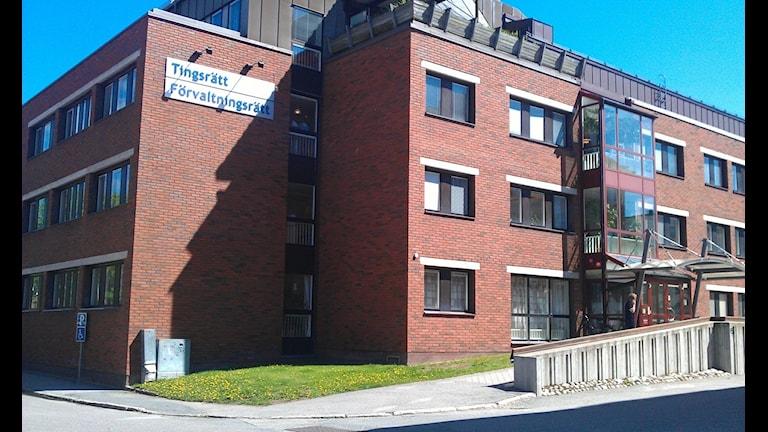 Ångermanlands tingsrätt i Härnösand. Foto Ulla Öhman