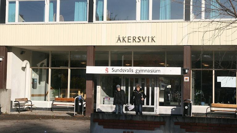 Åkersviksskolan, en del av Sundsvalls gymnasium. Foto: Ingrid Engstedt Edfast