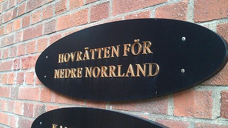 Hovrätten nedre Norrland i Sundsvall. Foto: Christer Sunesson/Sveriges Radio