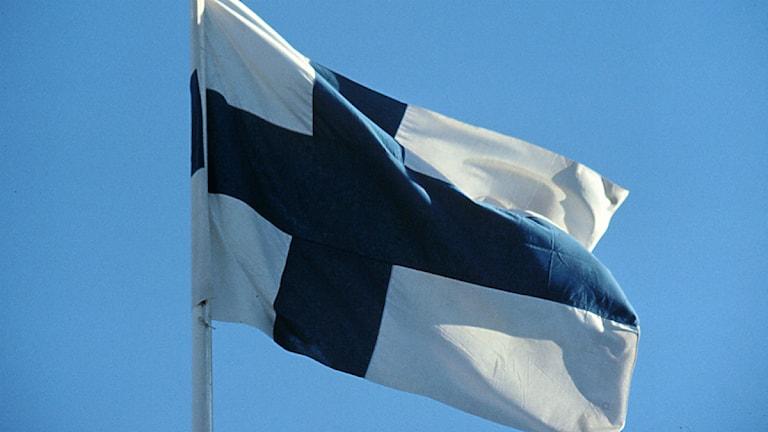 Finlandsflagga
