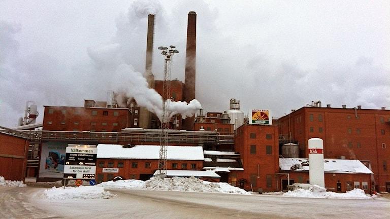 Domsjö Fabriker, exteriör