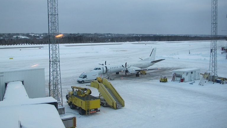 Midlanda flygplats. Arkivfoto Stig Edfast