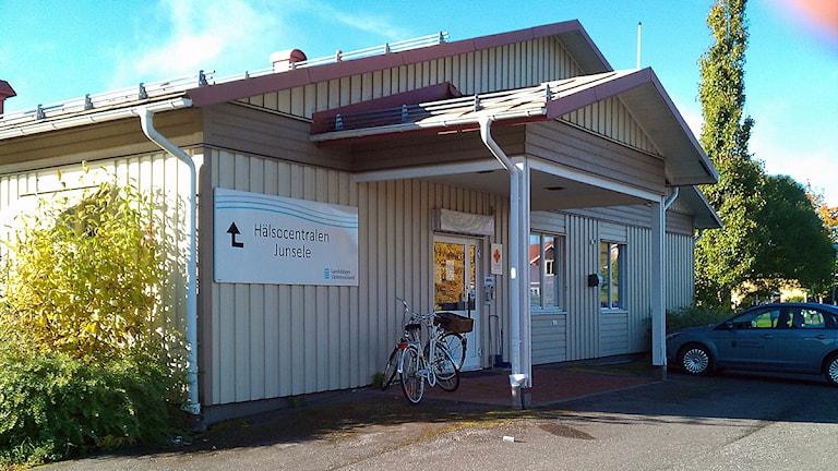 Junsele vårdcentral. Foto: Sveriges Radio