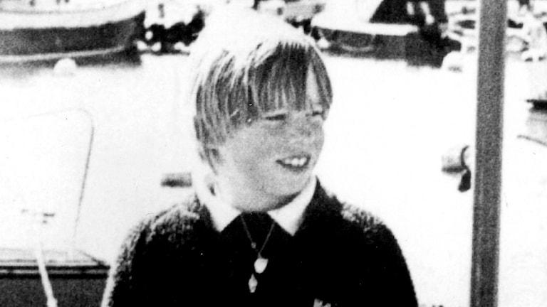 Bild på Johan Asplund, svartvit