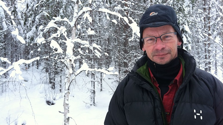 Tomas Nejne ordförande Vilhelmina södra sameby Foto: Elenor Nordström