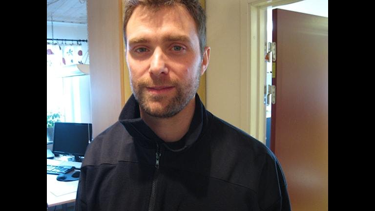 Andreas Hoff är biträdande räddningschef på Räddningstjänsten Höga Kusten-Ådalen. Foto Ulla Öhman