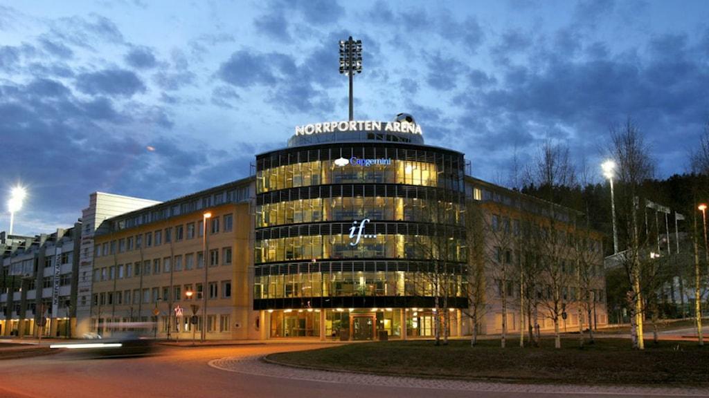 Idrottsparken, Norrporten Arena i Sundsvall. Foto: Norrporten