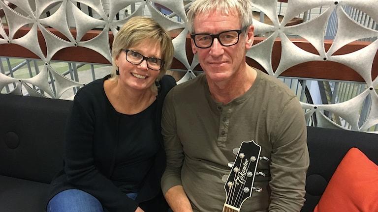 Ulrika Hägglund och Thomas Svensson. Foto: Ann-Charlotte Carlsson/Sveriges Radio