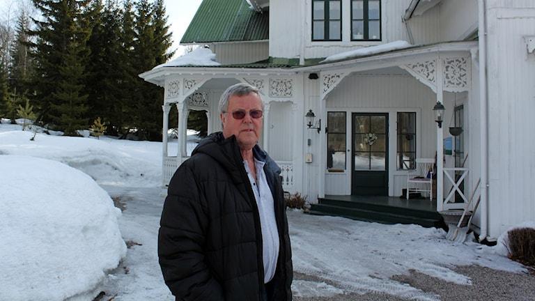 Lars Felländer, boende i Petersvik