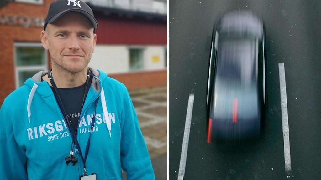 Johan Dyrander, gruppchef för trafikpolisen i Västernorrland.