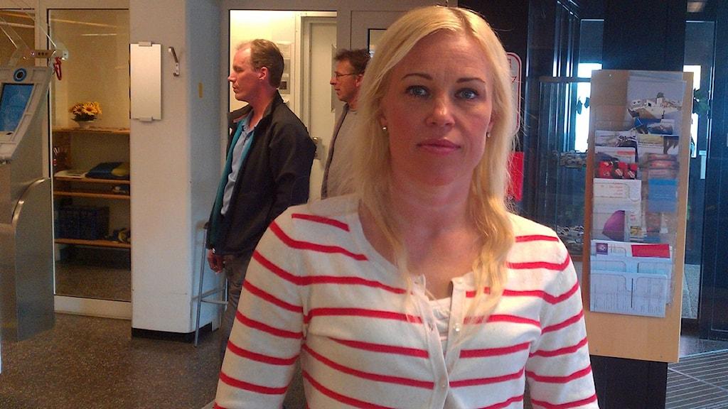 Maria Näslund, polis