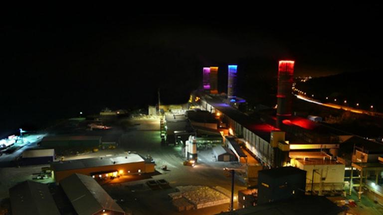 Kubals fabriksområde
