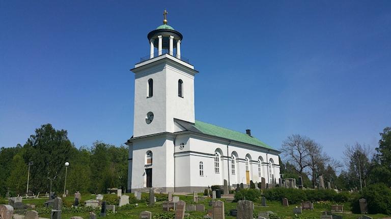 Timrå kyrka. Foto: Erik Nyberg/Sveriges Radio
