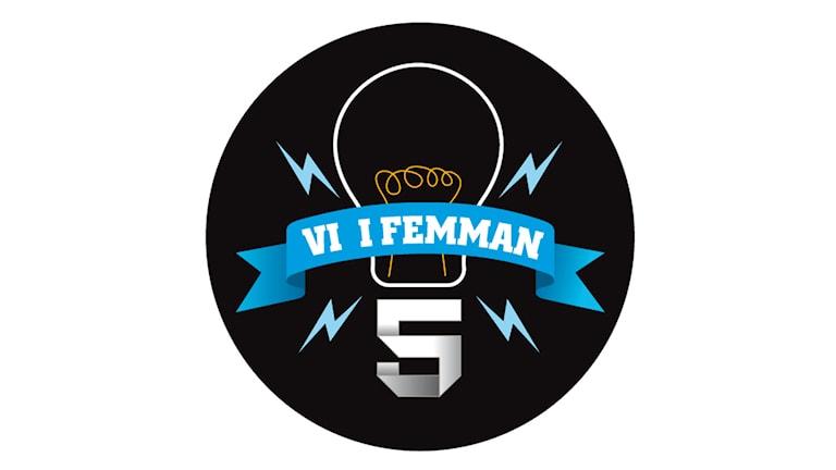 Logotype för Vi i femman