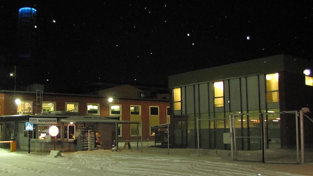 Huvudentrén Kubal. Foto: Niklas Axelsson/SR