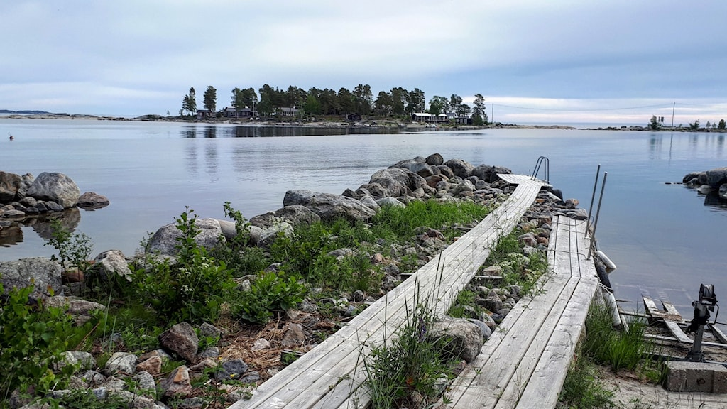 Bild på brygga Norra Nyhamn