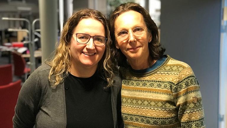Helene Dalemo Lundin och Lotta Andreen