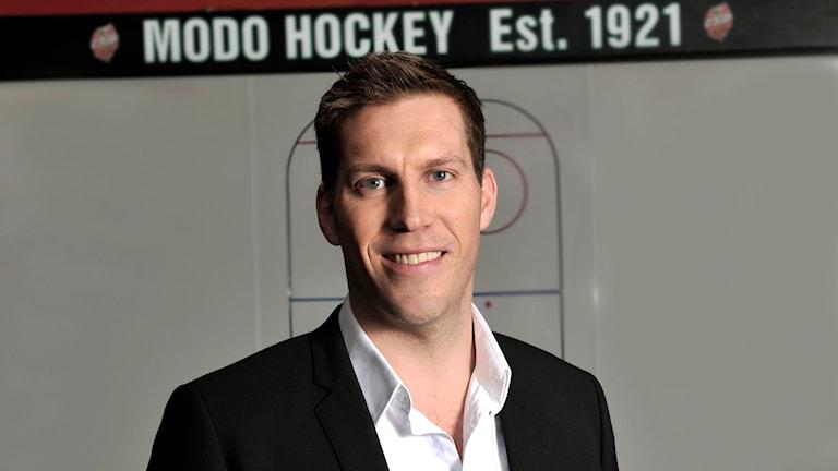 Per Svartvadet ny general manager Modo Hockey. Foto: MODO Hockey/Håkan Nordström.