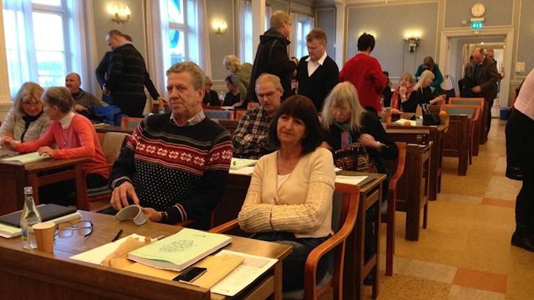 Lars-Gunnar Hultin (V) kritiserade landstingsrådets uttalande om revisionen i radiointervju igår. Arkivfoto: Ulla Öhman