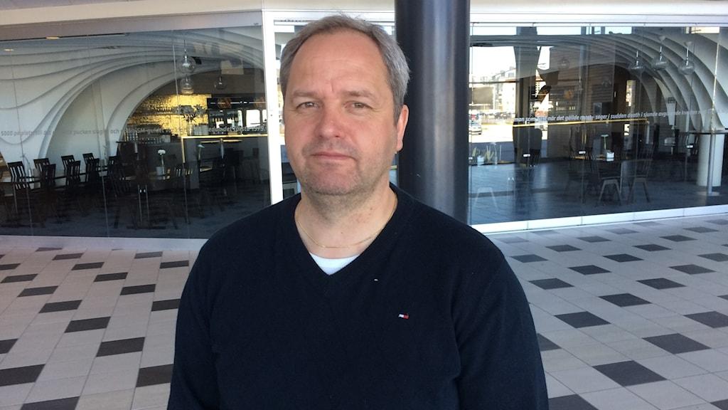 Michael Sundlöv, sportchef i Modo Hockey.