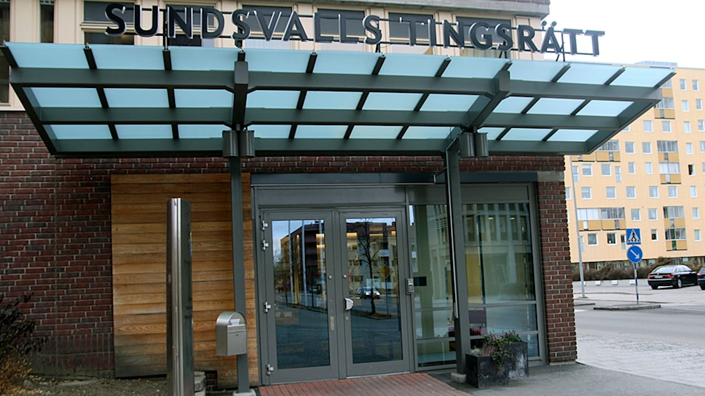 Entren till Sundsvalls Tingsrätt