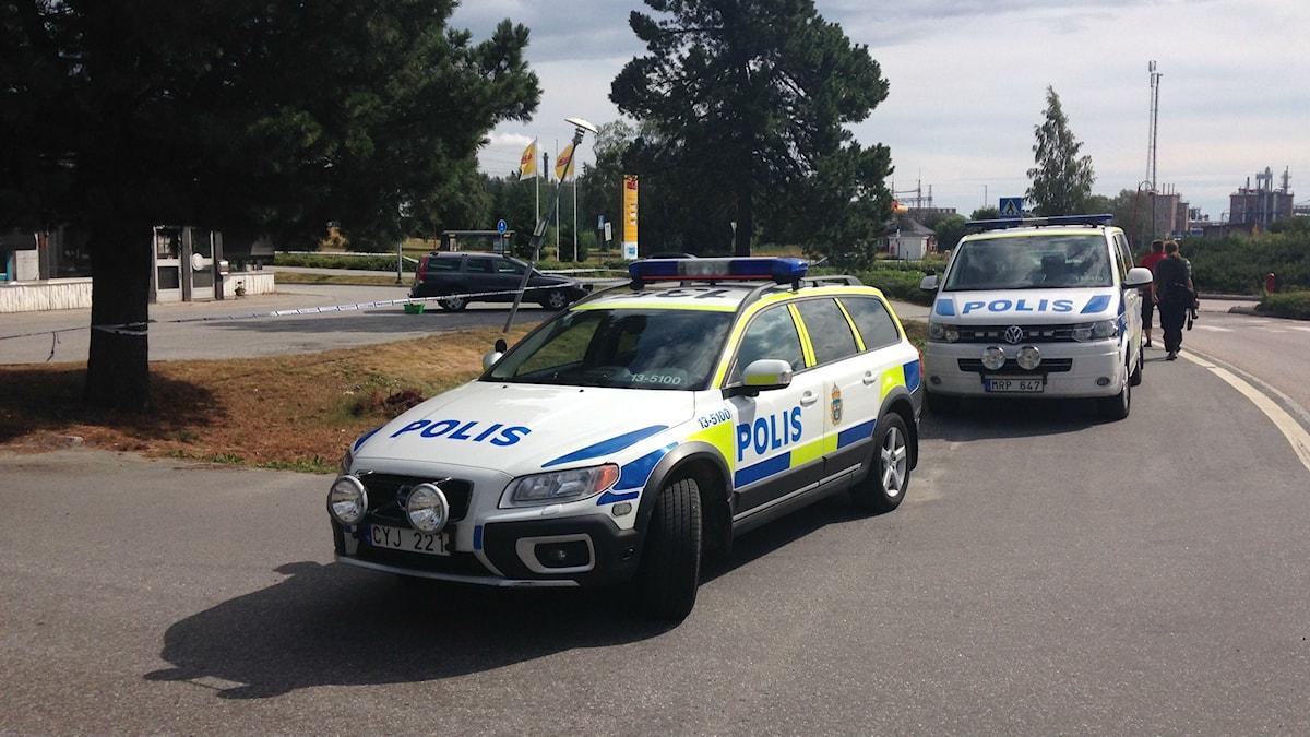 Polis polisbil polisbuss