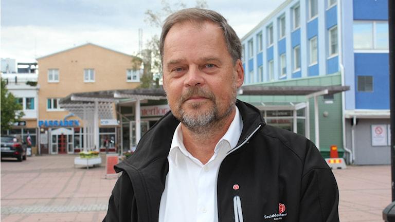 Jan Sahlén (S). Foto: Sara Johansson/SR