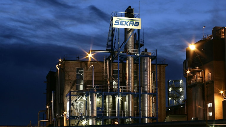 En av Sekabs fabriker. Foto: Sekab/pressbild
