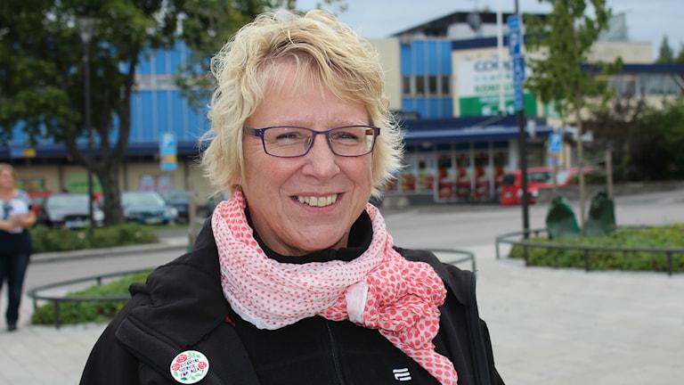 Ewa Lindstrand (S) Foto: Sara Johansson/SR
