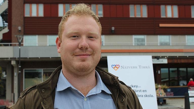 Robert Thunfors, Nätverk Timrå Foto: Sara Johansson/SR