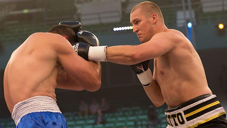 Otto Wallin vann på KO sin sjunde raka match